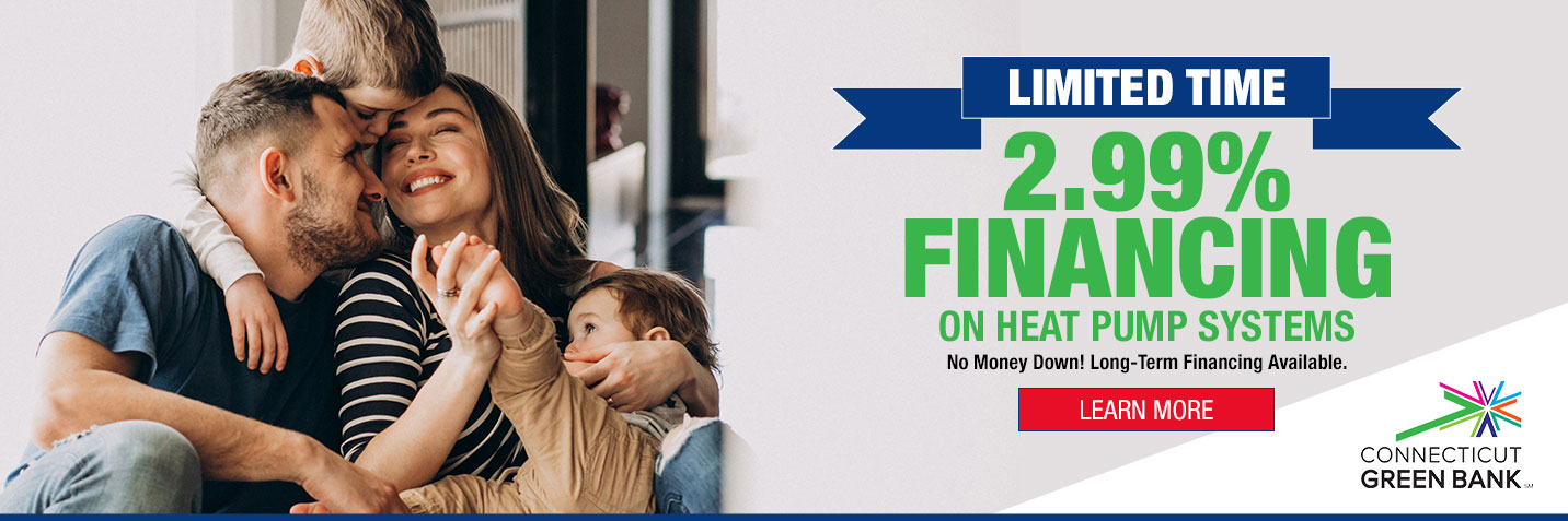 2.99% Financing On Heat Pump Systems
