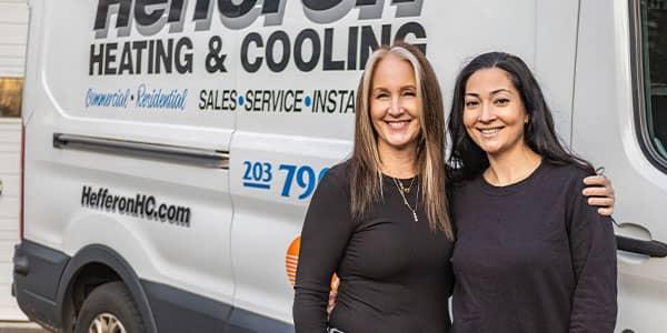 Brenda Hefferon & Christina Garron<br /> Office Admins